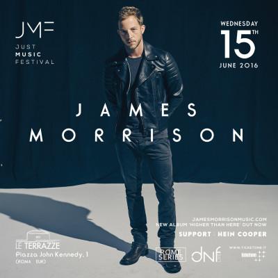 JUST MUSIC FESTIVAL: JAMES MORRISON alle Terrazzedell'EUR
